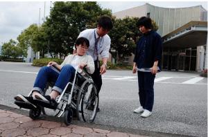 障がい体験:写真
