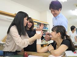 外部講師を招いての実践的な授業:写真