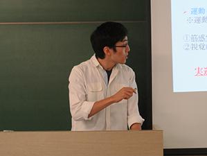 卒業研究計画発表会の様子:写真